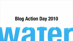 Blog Action Day, tema el agua