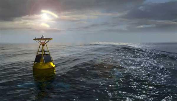 boya GPS de alerta de tsunami