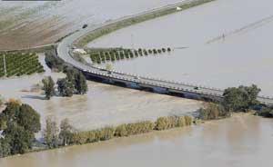 inundaciones del río Lora, Andalucia diciembre 2010