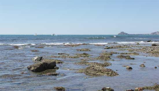 Mar Mediterráneo en Peñíscola