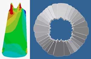 modelo 3D de la boca del Anomalicaris