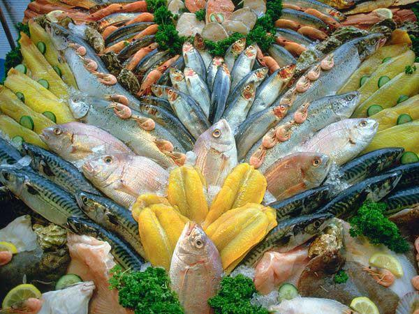 mostrador pescadería sostenible