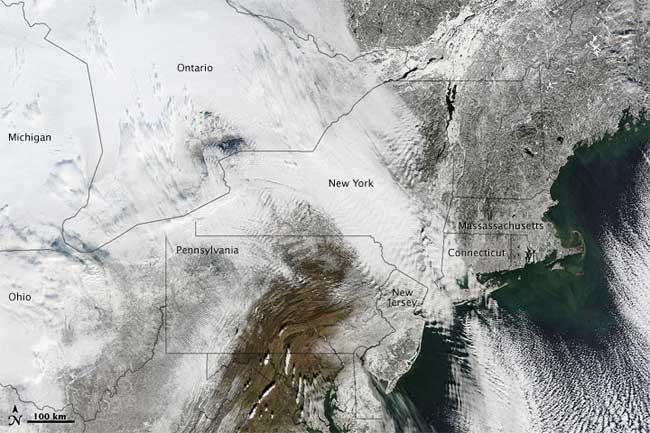 nieve este de EE.UU diciembre 2010