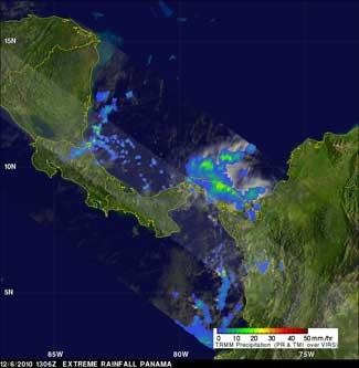Panamá lluvias 6 diciembre 2010