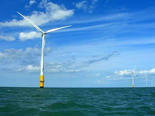 parque eólico marino Sinovel en Shanghai