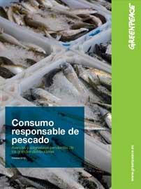 portada informe Greenpeace sobre consumo responsable de pescado
