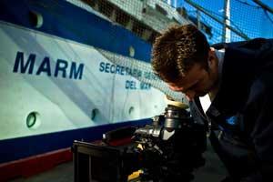 rodaje Historias del mar: protegiendo los océanos