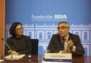 Silvia Churruca,  Fundación BBVA y Andrés Galera del CSIC