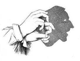 sombra de hombre