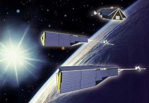Swarm 3 satélites