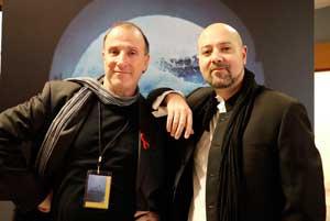 Tino Soriano con Ivan Bouso