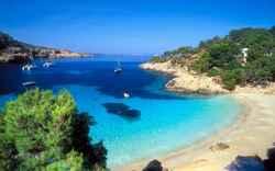 Cala Salada y Cala Saladeta, Ibiza