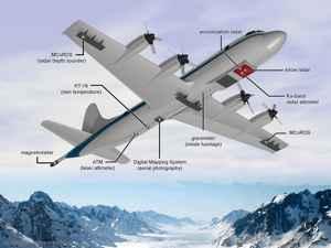 Orion P3 de la operación Ice Bridge