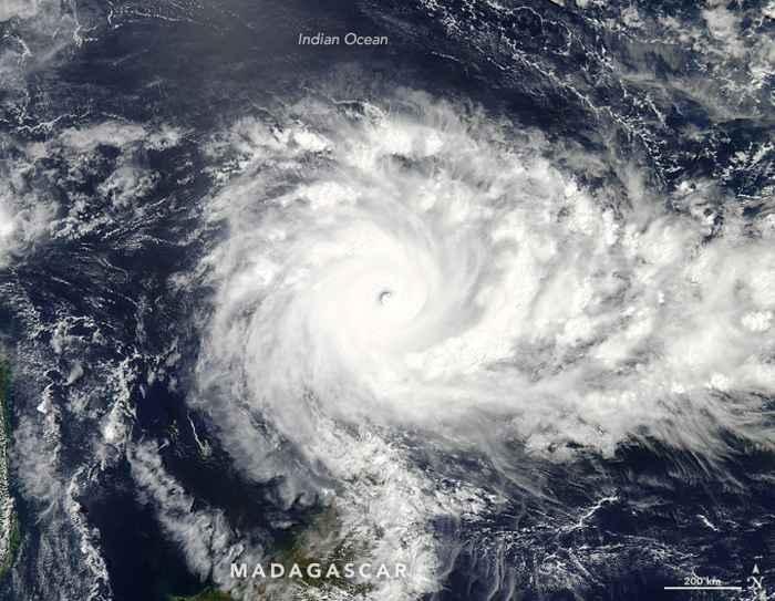 ciclón Fantala