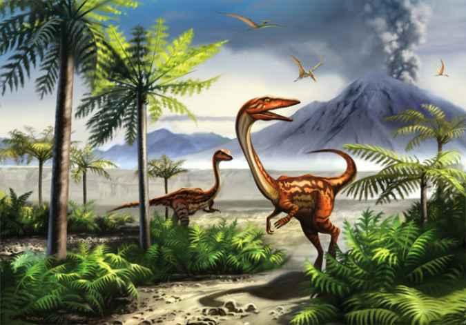 erupciones volcánicas no causaron la extinción de los dinosaurios