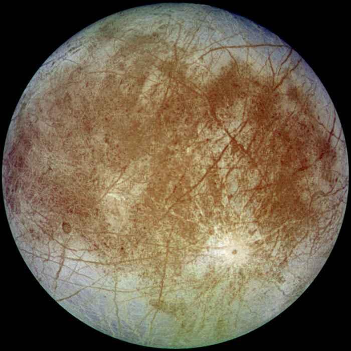 Europa, la luna de Jupiter