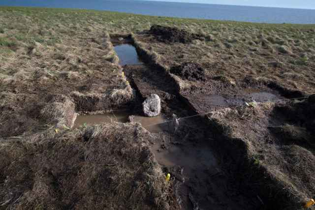 excavación vikinga en Point Rosee, Canadá