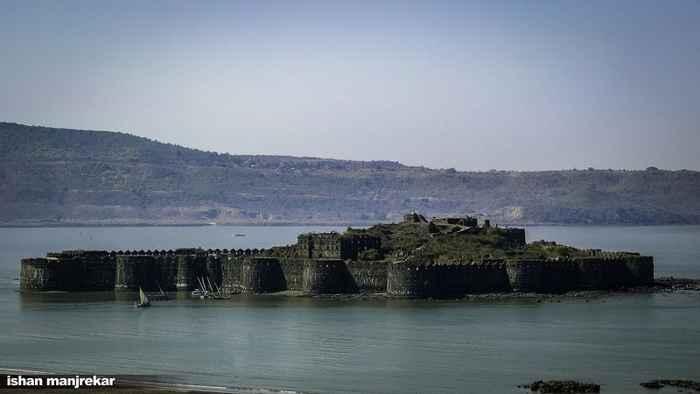 Fortaleza marina Murud-Janjira, India