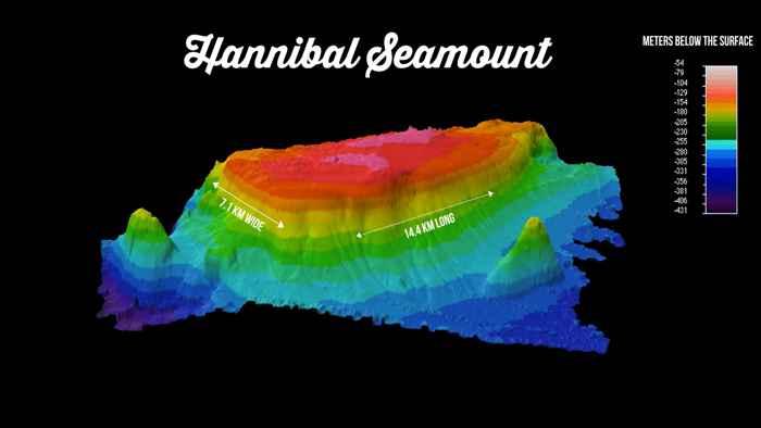 montaña submarina Hannibal