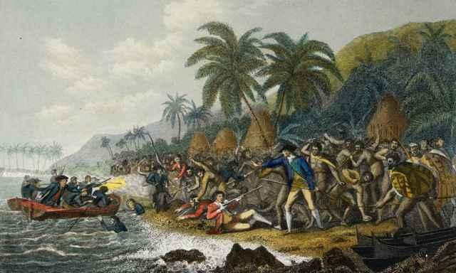 muerte del capitán James Cook