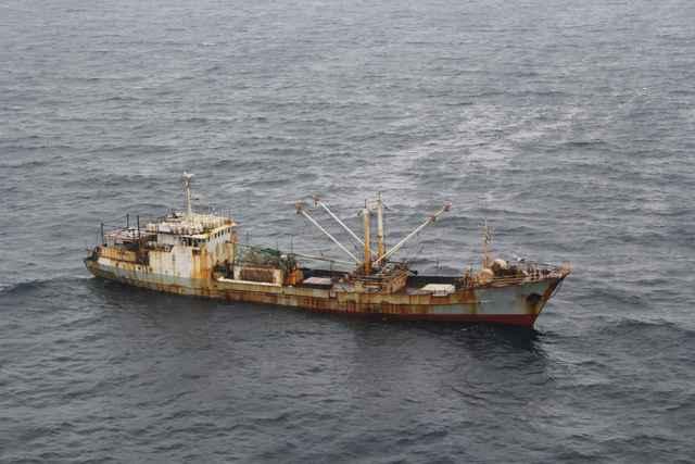 pesquero ilegal en el Índico