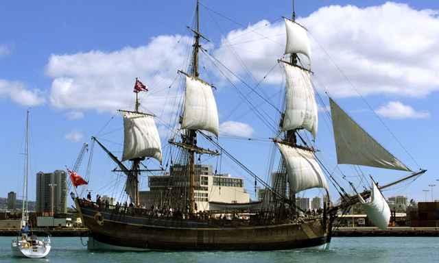 réplica del HMS Endeavour