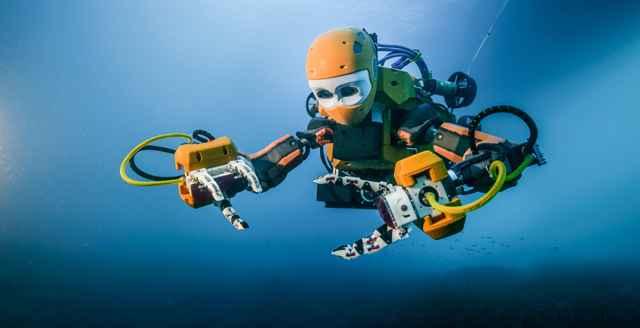 robot submarino OceanOne