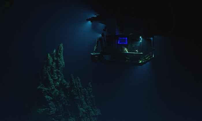 ROV Deep Discoverer en la Fosa de las Marianas