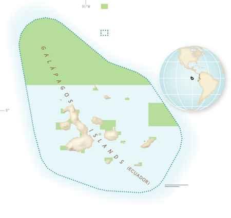 nuevo santuario marino de las Islas Galápagos