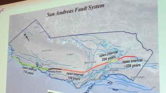 sistema de fallas de San Andrés
