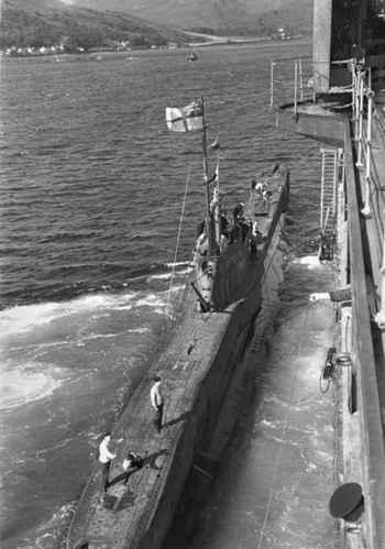 submarino británico HMS P311