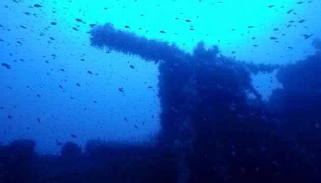 submarino británico encontrado en Italia