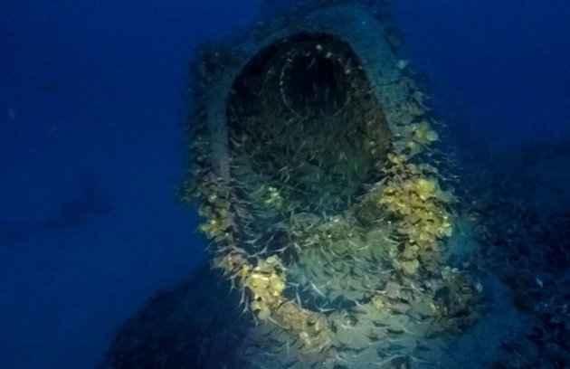 submarino británico encontrado cerca de Cerdeña