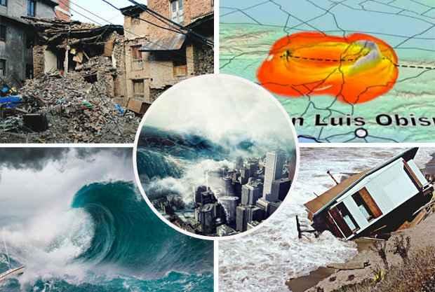 terremoto en la falla de San Andrés