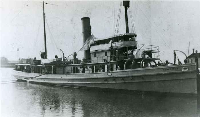 el USS Conestoga según parecía en 1921