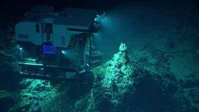 ROV Deep Discoverer en los montes submarinos Chamorro