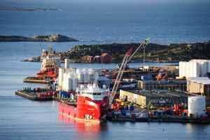 puerto de Risavika, Noruega