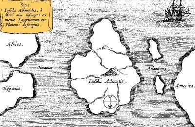 La ciudad perdida de Atlántida