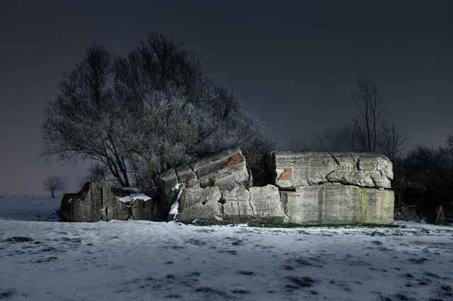 bunker volado