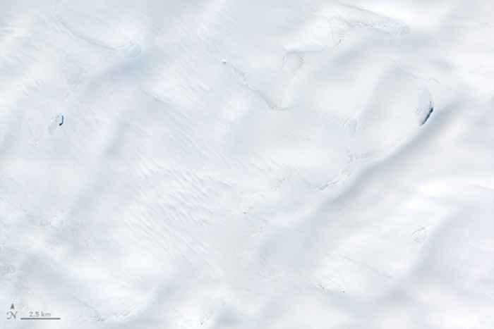 deshielo de la capa de hielo de Groenlandia en junio de 2014