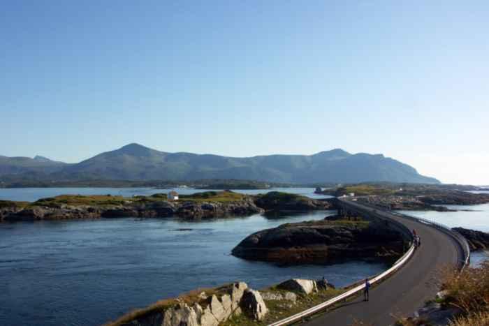 carretera Atlanterhavsveien, Noruega, puente Hulvagen
