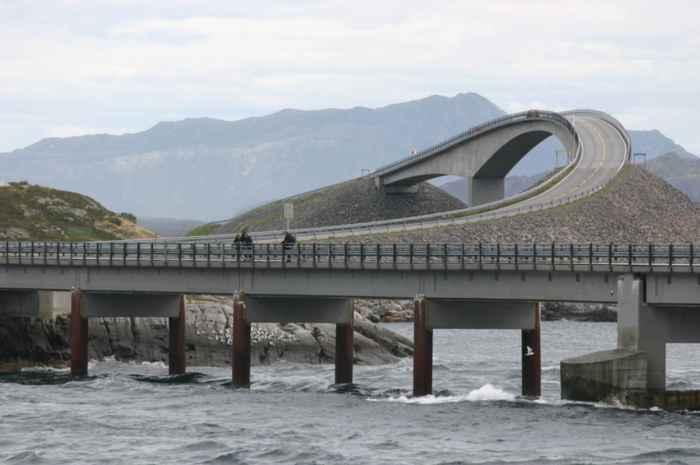 carretera Atlanterhavsveien, Noruega, puente Storseisundet