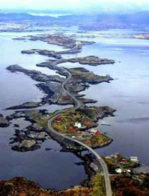 carretera Atlanterhavsveien, Noruega