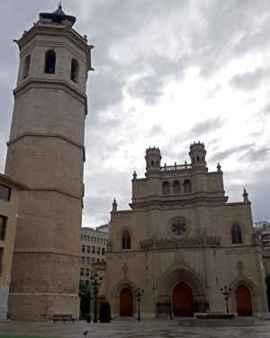 Castellón, torre capanario de El fadrí