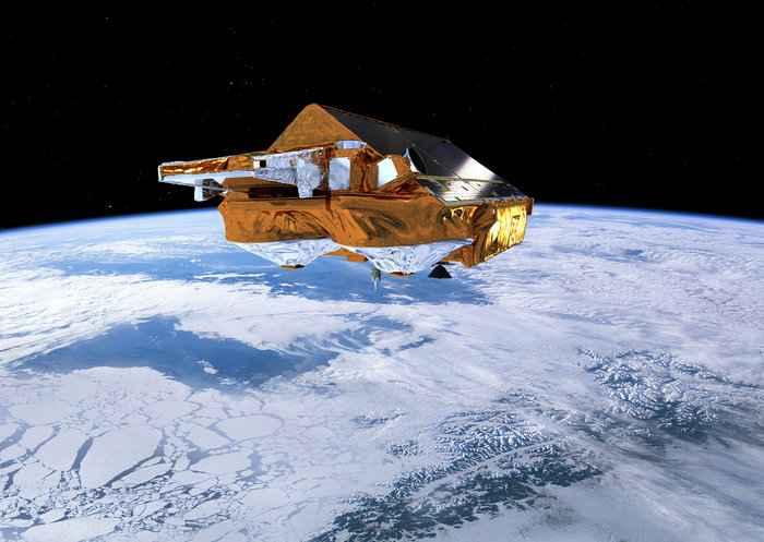 satélite CryoSat