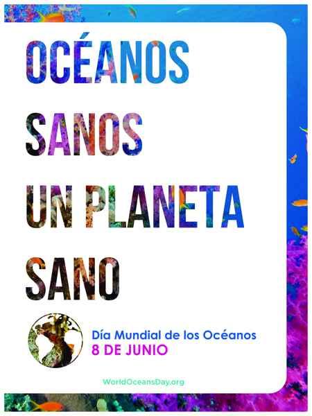 Día Mundial de los Océanos 2016 - poster