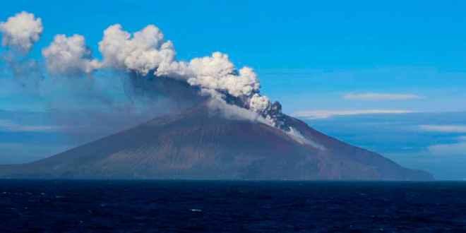 erupción del Monte Curry