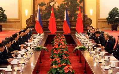 reunión Filipinas-China