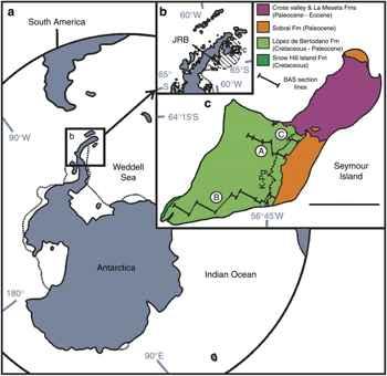 localización de la Isla de Seymour