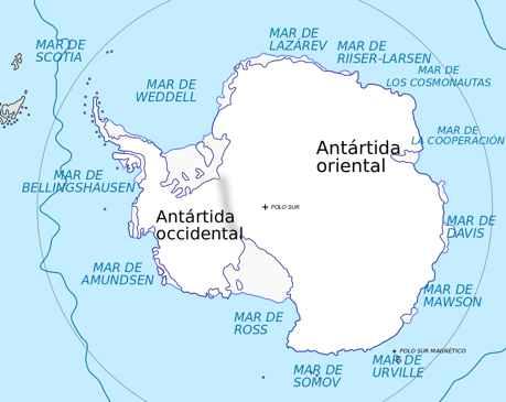 mares antárticos